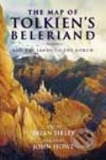 The Map of Tolkien's Beleriand and the Lands to the North
