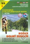 Ko�ice,Doln� Zempl�n 1:100 000 - cykloturistick� mapa 5