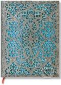 Paperblanks - z�pisn�k na 10 rokov Maya Blue