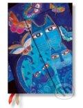 Paperblanks - Blue Cats & Butterflies 2016