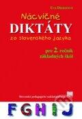 N�cvi�n� dikt�ty zo slovensk�ho jazyka pre 2. ro�n�k z�kladn�ch �k�l