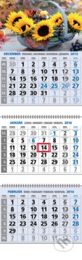 Klasick� 3-mesa�n� kalend�r 2016 s mot�vom slne�n�c