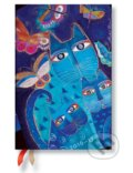 Paperblanks - di�r Blue Cats & Butterflies 2016/2017