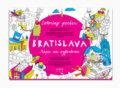 Bratislava - Mapa na vyfarbenie