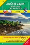 Cho�sk� vrchy - Vodn� n�dr� Liptovsk� Mara 1:50 000, turistick� mapa �. 111