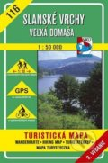 Slansk� vrchy - Ve�k� Doma�a - turistick� mapa �. 116