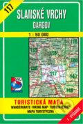 Slansk� vrchy - Dargov - turistick� mapa �. 117