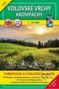 Volovsk� vrchy - Krompachy - turistick� mapa �. 125