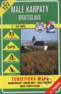 Mal� Karpaty - Bratislava - turistick� mapa �. 127