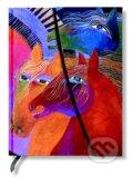 Paperblanks - Wild Horses of Fire - MIDI - linajkov�