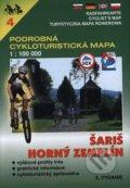 �ari�, Horn� Zempl�n 1:100 000 - cykloturistick� mapa �. 4