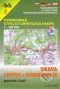 Orava, Liptov, Horehronie 1:100 000 - cykloturistick� mapa 2