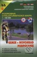 Gemer, Novohrad, Podpo�anie - cykloturistick� mapa �. 9