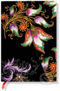 Paperblanks - Floral Cascade Ebony - MIDI - �ist�