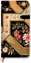 Paperblanks - Filigree Floral Ebony - SLIM - �ist�
