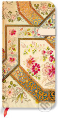 Paperblanks - Filigree Floral Ivory - SLIM - linajkov�