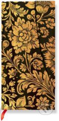 Paperblanks - Midnight Gold - SLIM - �ist�