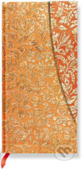 Paperblanks - Flaming Gold - SLIM - linajkov�