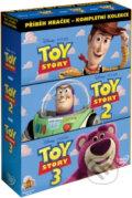 Toy Story: Pr�beh hra�iek - 3 DVD