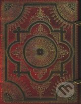 Paperblanks - Ventaglio Rosso - GRANDE - cisty