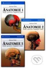 Anatomie 1, 2, 3 - kolekcia (Radomir Cihak)