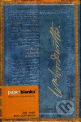 Paperblanks - Wordsworth, Letter Quoting & Daffodils & - MINI - linajkový -