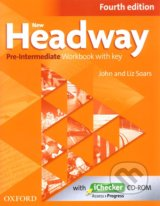 New Headway - Pre-Intermediate - Workbook  with key (Fourth edition)