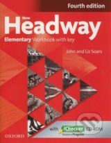 New Headway - Elementary - Workbook with key (Fourth edition) (With iChecker  CD-Rom) - John Soars, Liz Soars