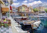 Sam Park, Café in Cassis -