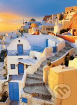 Greece, View of Oia Village