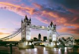 Tower Bridge, Londýn, Anglicko -
