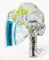 Crumpled City Map: Amsterdam -