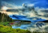 Maligne Lake Boathouse, Canada -