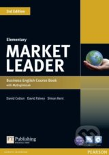 Market Leader - Elementary - Coursebook + DVD - David Cotton, David Falvey