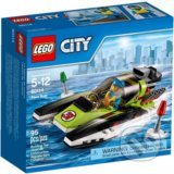 LEGO City Great Vehicles 60114 Pretekársky čln