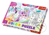 Color Puzzle Ponies Pony in his land -