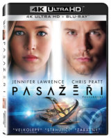 Pasažéři Ultra HD Blu-ray