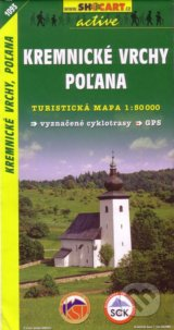 Kremnicke vrchy, Polana 1:50 000