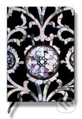 Paperblanks - Crystal Flower - MIDI - linajkovy