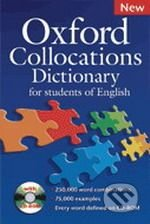 Oxford Collocations Dictionary for Students of English with CD-ROM