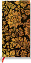 Paperblanks - Midnight Gold - SLIM - linajkov�