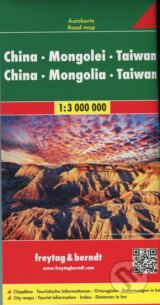 China-Mongolei-Taiwan 1:3 000 000 -