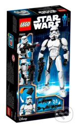 LEGO Constraction Star Wars 75531 Veliteľ Stormtrooperov -