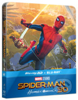 Spider-Man: Homecoming 3D Steelbook - Jon Watts